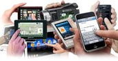 Different touch screen devices