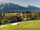 Golf für Familien spielen.