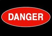 D stands for DANGER