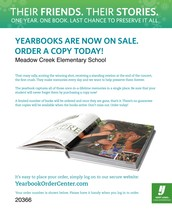 Yearbooks still on sale!