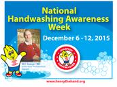 National Hand Washing Awareness Week