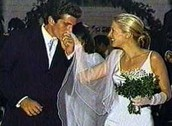 when he married his wife