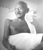 Mahatma Gandhi: peaceful protester