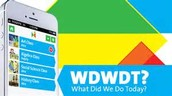 WDWDT? (What Did We Do Today?)