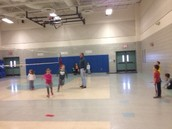 Kickball with Mr. B.