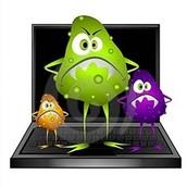 La instalación de software malicioso (virus).