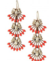 Coral Cay Earrings (convertible earrings, 3 ways to wear)