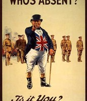 This poster was used to recruit more soldiers