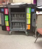 iPad Cart Managment