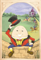 Humpty Dumpty and the Trip to Mars