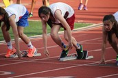 Lady Bulldogs Flex Muscles at District Meet