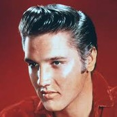 Elvis Presley the rock and roll king