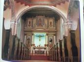 The Inside of Mission San Luis Rey de Francia