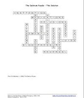 Delirium Crossword answers