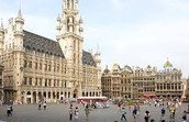 Grand Square in Brussels