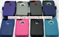 Iphone 5 Hard case and clip