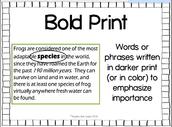Bold Print