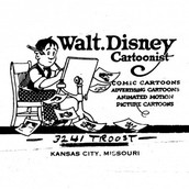 Walt's Business Envelope (c. 1921)