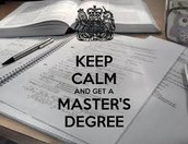 2. Earn A Master's Degree