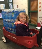Special delivery of water to go to Flint!