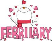 F is for febrero (February)