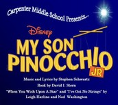 "Come out tonight or tomorrow night (November 12th & 13th) to see the musical production of ""My Son Pinocchio."""