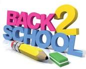 School Starts September 4!