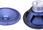 Alnico Magnets in a Speaker.