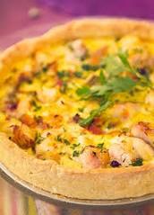 Tartas de Jamón y queso, zapallitos, pollo, verdura, etc