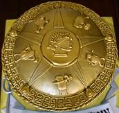 A Percy Jackson Cake