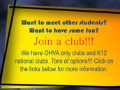 How to get involved in a club