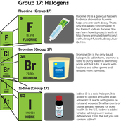 More about Fluorine, Bromium, and Iodine