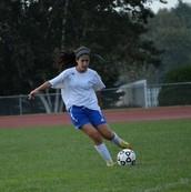 Me encanta jugar al fútbol