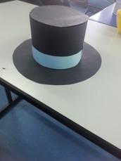 צפה בסרטון המתאר כיצד מכינים כובע קסמים