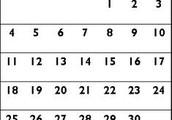 Dates of camp