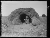 An Aboriginal huts