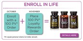 This month's enrollment special.