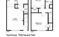 Comfortable floor plans