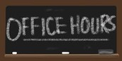 Weekly Office Hours - Mrs. Kristin Wolff