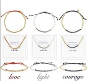 Pretty bracelets, perfect to wear alone or to stack