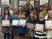 Special recognition to our Evamere students at the Mental Health Poster Awards.