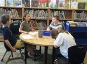 2nd Graders sharing Prelutsky-like poetry