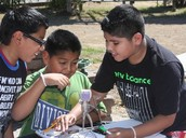 Fifth Graders Enjoy End of Unit on Solar Day