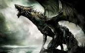 the dragon one of the fiercest mythical creatures
