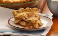 Rote und Gruene Apfel Torte mit Zimter