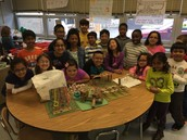 Our class with our final products