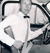 Three-point Seat Belt (1959)