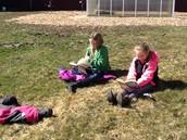 Reading Outside!