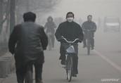El contaminaci'on en China