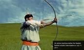 archery in mongolia